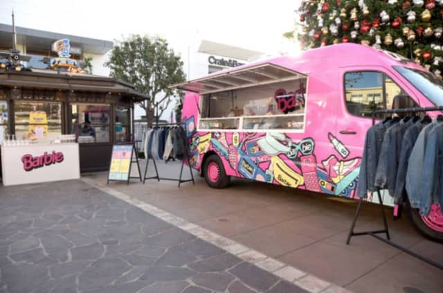 The Barbie pop-up truck is coming to the Garden State Plaza.