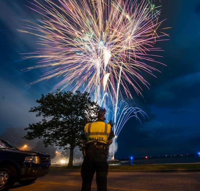 Fireworks will light up the night sky on Saturday in Bridgeport as part of the closing weekend festivities of the Barnum Festival.