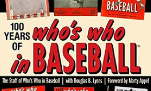 """The author of """"100 Years of Who's Who in Baseball"""" will give a talk at the Scarsdale Library."""
