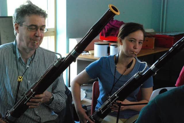 If you play bassoon or oboe, Hoff-Barthelson would like to help you hone your reed-making skills.