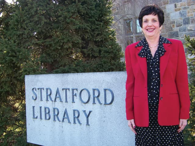 Stratford Library Director Barbara Blosveren will retire in February after 33 years of service to the agency. A public reception is planned for her on February 17 from 3:30-6:30 p.m.