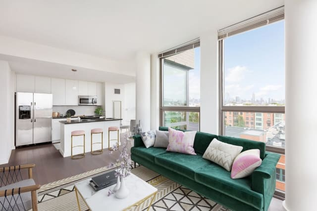 Units at VINE, 900 Monroe St., in Hoboken go for approximately $2,600 a month.