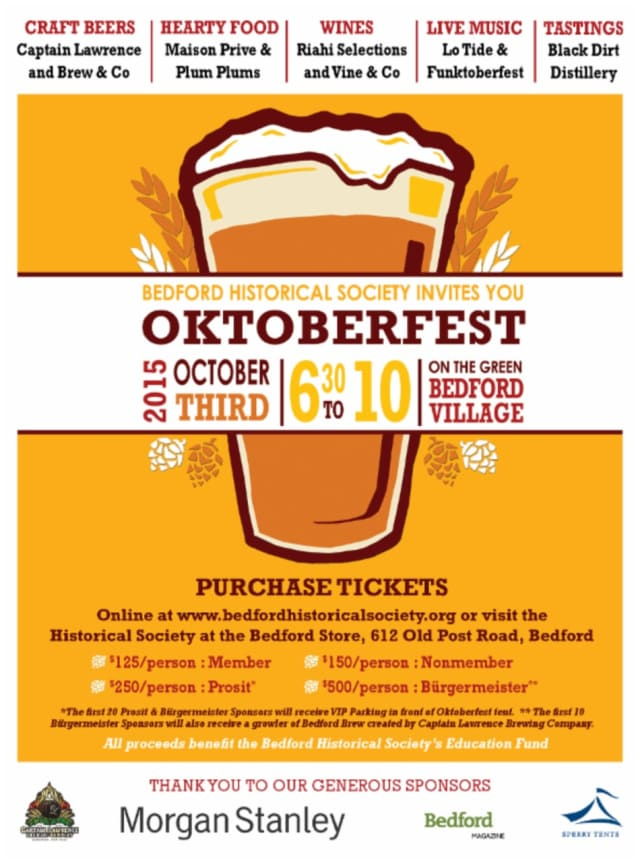 Oktoberfest comes to the Village Green Oct. 3.
