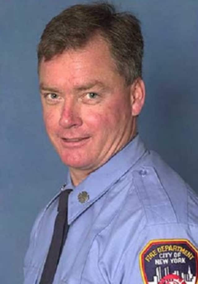 New York City Firefighter John Bellew of Pearl River was killed in a 2005 fire in the Bronx.