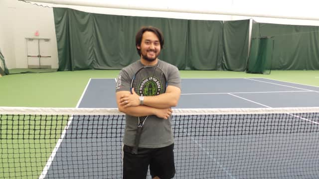 Rye native, Ben Chin, of Queens, N.Y., is an avid tennis player who coordinates local play opportunities in Westchester County.