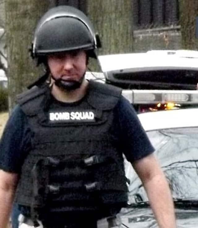 Bergen County Bomb Squad member