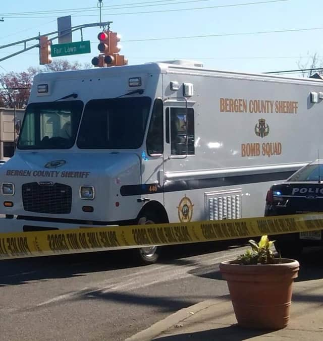 Bergen County Sheriff's Bomb Squad