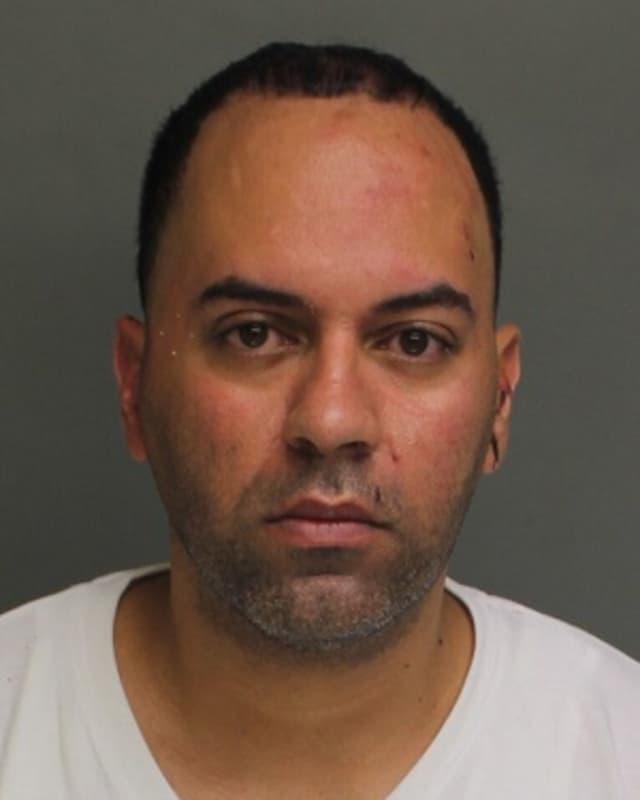 Dennis Berrios of Fairfield is facing assault charges in connection with a fracas at a Bridgeport diner.