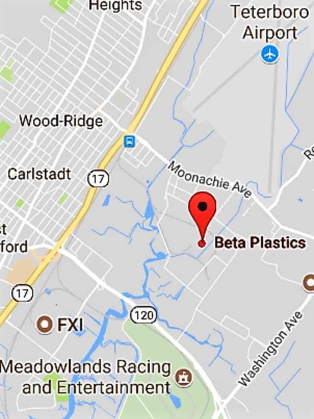 Beta Plastics on Amor Avenue, Carlstadt.