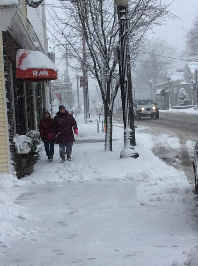 Fairfield County residents could have to deal with snow throughout the week