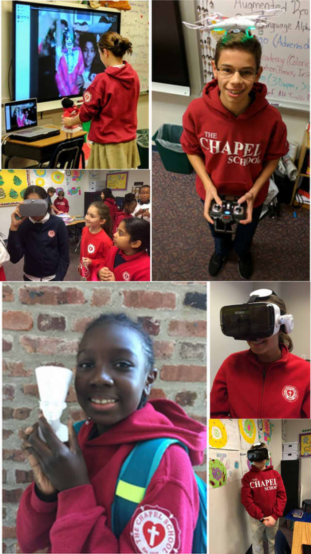 The Chapel School Students celebrated Computer Science Education Week in early December.
