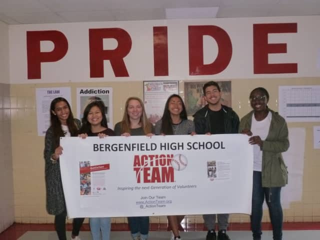 Bergenfield High School participated in the Action Team program and conducted fundraisers to honor the life of a 2012 graduate.
