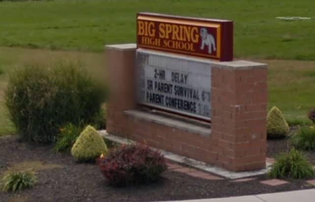 Big Spring High School.