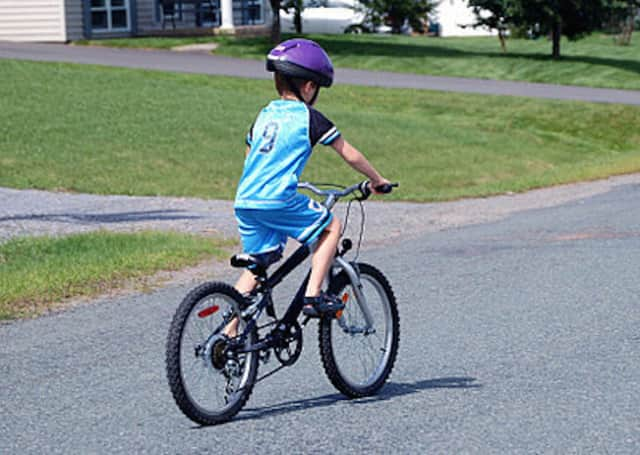 "Bike safety will be demonstrated Sunday at the Westchester Cycle Club free ""rodeo"" in White Plains."
