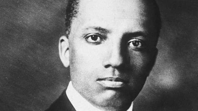 Dr. Carter G. Woodson, the father of black history