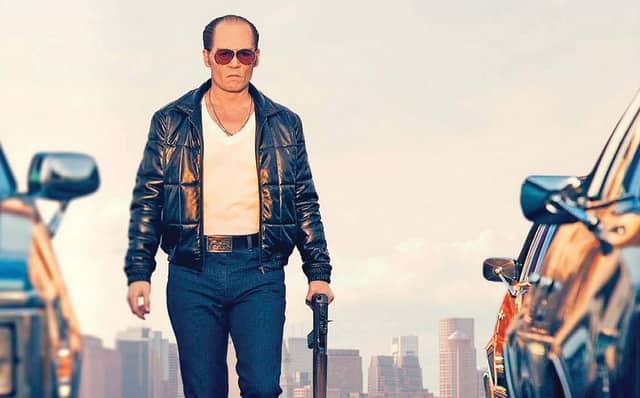 """Johnny Depp stars in """"Black Mass."""""""