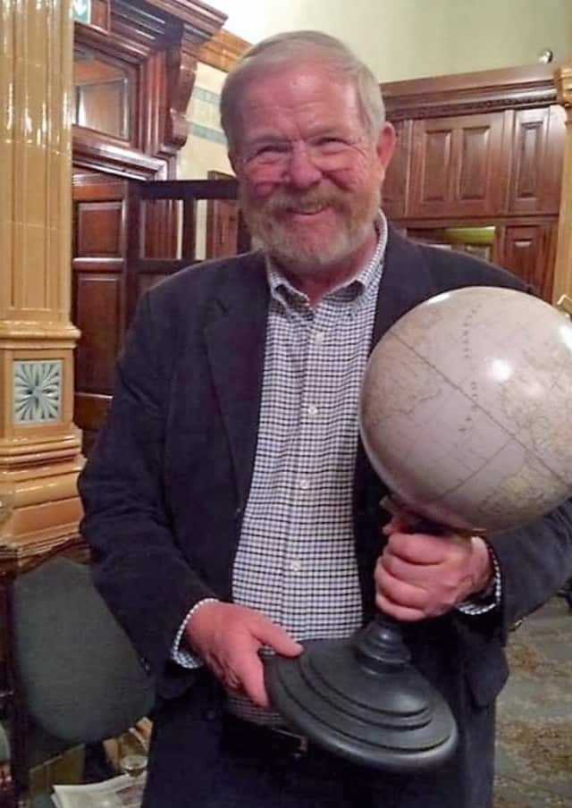 "Travel author Bill Bryson, author of ""A Walk in the Woods."""