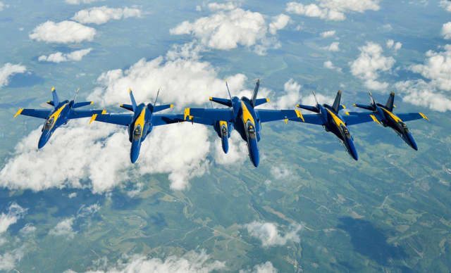 The U.S. Navy Blue Angels will headline the New York Air Show at Stewart International Airport.