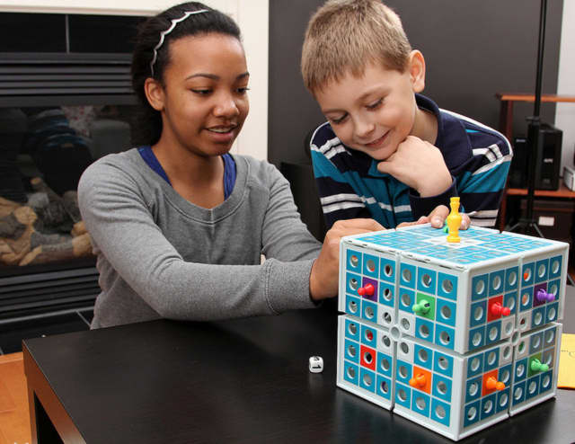 The Somers Library is giving students a chance to create their own board games