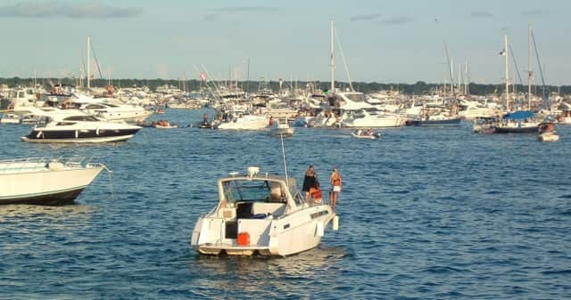 The summer water recreation season is in full swing and Norwalk police are warning the public that piloting a boat while impaired is just as illegal as driving a car while intoxicated or high.