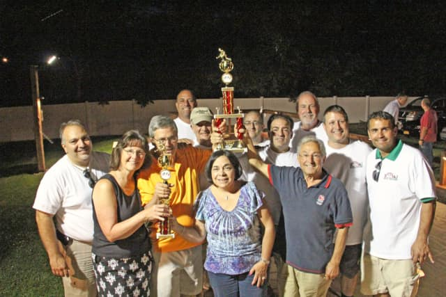 The Sons of Italy Lodge 2716 in Blauvelt held their first-ever bocce ball tournament last month.