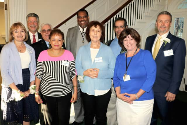 The Southern Westchester BOCES Board of Education and administration honor recent retirees at a June 8 dinner in Rye Brook, N.Y.