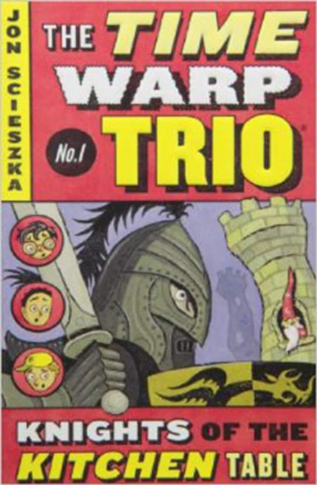 """The book """"The Knights of the Kitchen Table,"""" the first Time Warp Trio book, was discussed at Eastchester's Parent-Child Club & Craft Activity at the Eastchester Public Library."""