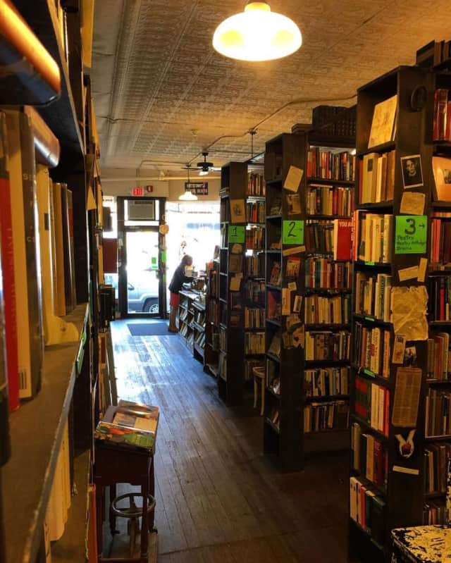 Bruised Apple Books  is a popular spot for Peekskill residents.