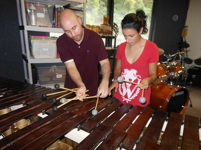 The Mount Pleasant Public Library presents a workshop by percussionist and educator Simon Boyar.