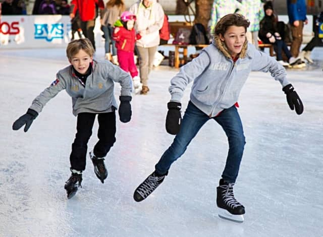 Englewood middle-schoolers can skate for free on two Friday evenings in March.