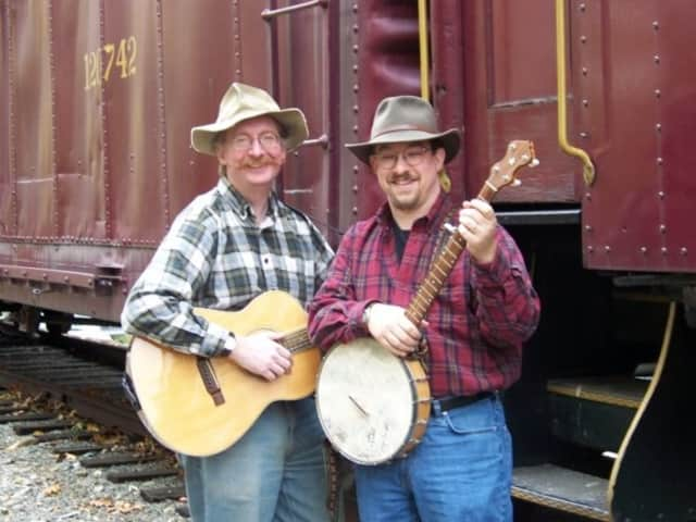 Eric Anderson, left, Paul Bryant-Smith, right, of Boys in Hats