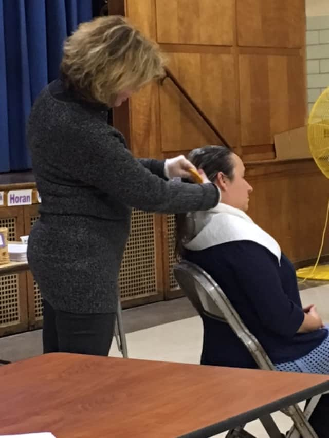 Ossining parents attended a presentation on ways to prevent and treat lice.
