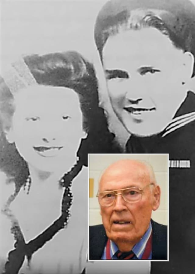 Joseph Brammer and his late widow, Antoinette, were married for 71 years.