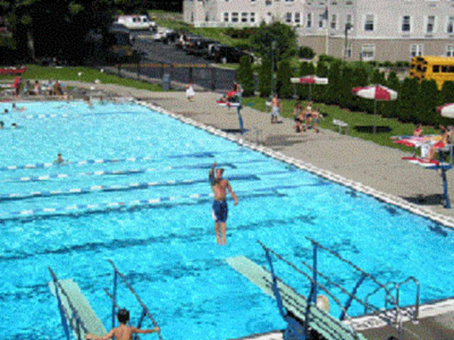 The pool's open for the summer at Law Memorial Park in Briarcliff Manor.