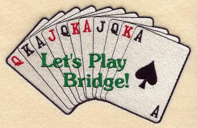 Come learn to play bridge in Newtown.