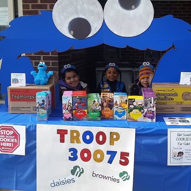 Girl Scouts will be selling cookies on Election Day across Connecticut.