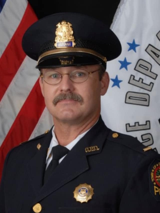 Lt. Brian Briggs retired after a 27-year career with the Greenwich Police Department.