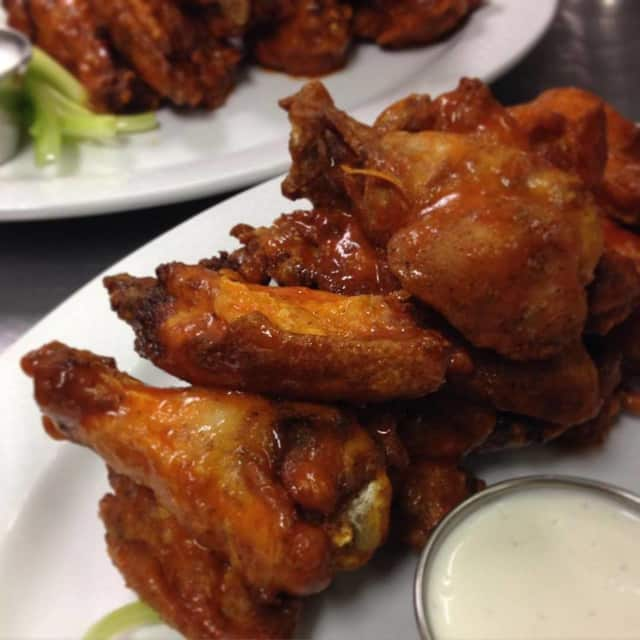 Buffalo wings from Craft House Kitchen & Bar in Suffern.
