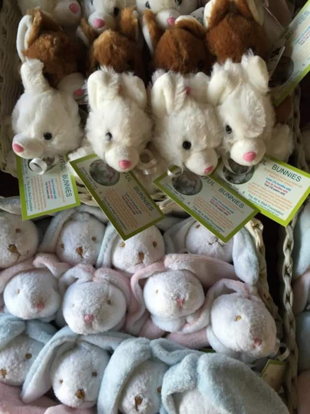 The bunny fundraiser continues after Easter, as well.
