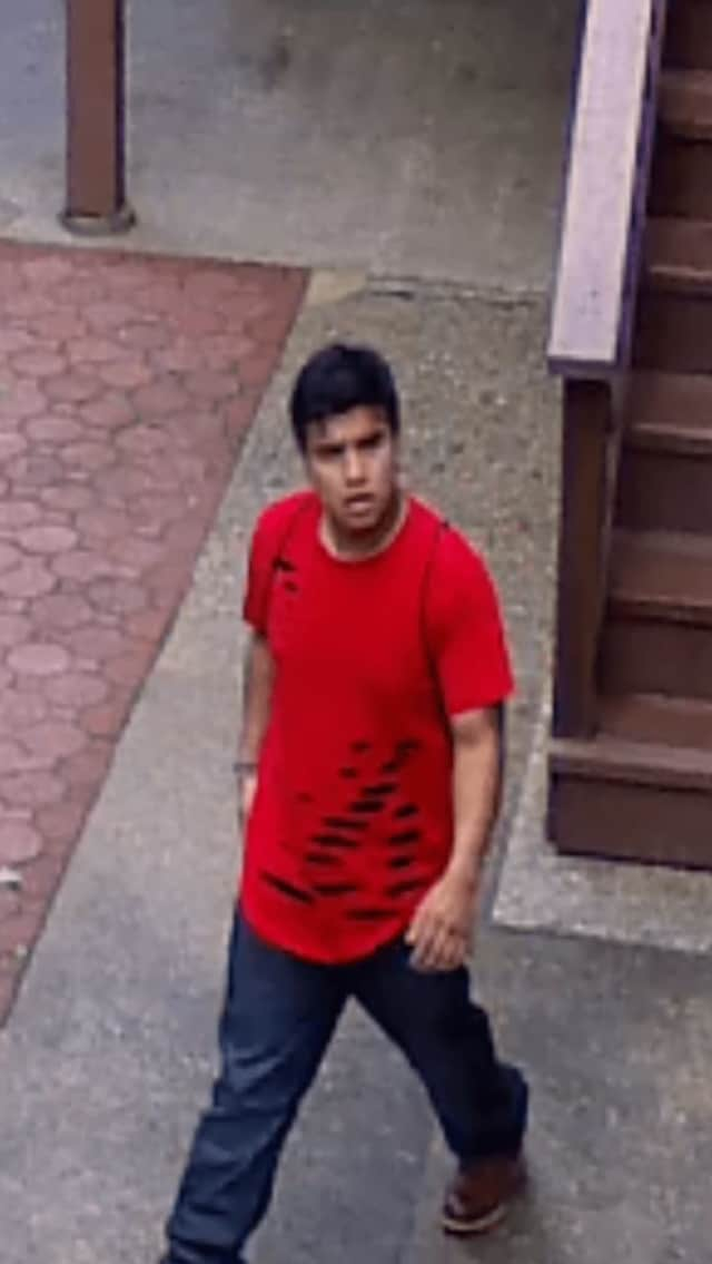 Surveillance footage of a suspect who police say tried to break into a home on North Seir Hill Road.