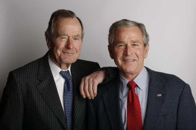 George W. Bush will join his father as a recipient of the Thayer Award on Cot. 19.