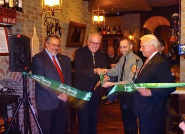Flights Wine & Whiskey Bar in Pleasantville held a ribbon-cutting in January. Paul Paljevic of Eurospa and Flights Wine & Whiskey Bar is one of the nominees for 2015 Pleasantville Businessperson of the Year.