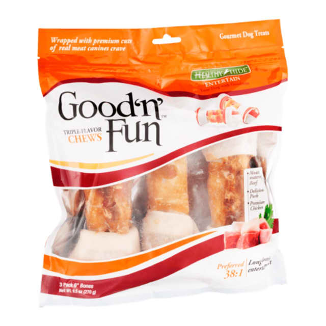 Good 'n' Fun Healthy Hide treats and others were recently recalled by the FDA.
