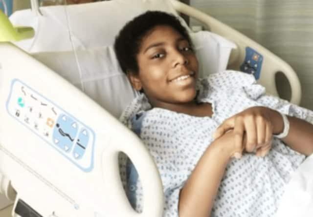 Zoryah, a 14-year-old battling sarcoma