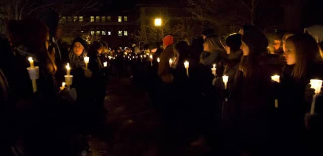 Various clergy in Rutherford are hosting a candlelight vigil on Friday evening.