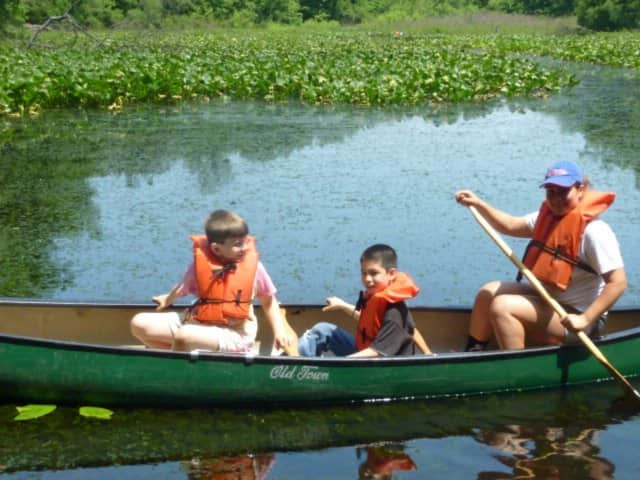 The Tenafly Nature Center's annual canoeing event on Pfister's Pond is coming in June.