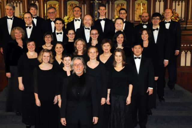 The Canticum Novum Singers choral musical group will perform a choral concert in South Salem.