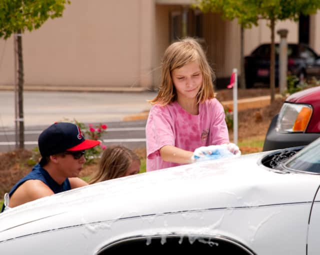 Get your car washed this weekend for a good cause.