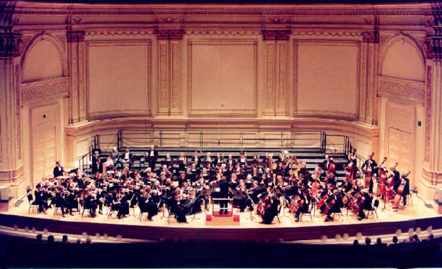 The Ridgewood Symphony Orchestra will perform Feb. 27 with the Orpheus Club Men's Chorus.