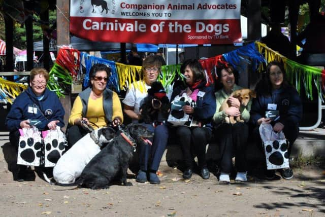 Sandi LoConti and her Jersey Girls helped raise more than $7,000 at last year's Carnivale of the Dogs in Ridgewood. This year's event takes place Oct. 18.